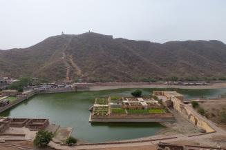 Blick vom Amber Fort