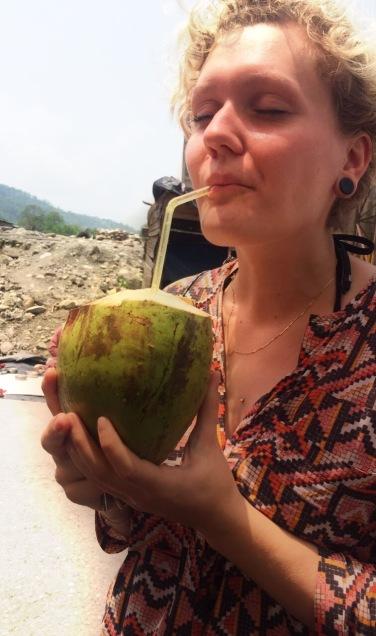 Kokosnusssaft - gar nicht so lecker wie gedacht