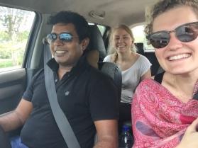 Santosh, Natalia & ich