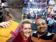 Shopping mit Satish
