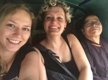 Tuktukfahrt mit einer Einheimischen