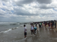 Marina Beach...etwas ueberlaufen