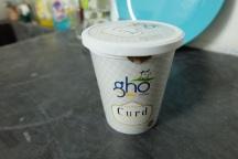 Curd (Yoghurt) gibt es bei mir fast jeden Morgen zusammen mit einer leckeren Mango. Meistens 35 Rs. (0,47 Euro)