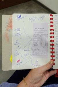 Hier hast Du einen kleinen Einblick in mein Tagebuch. :)