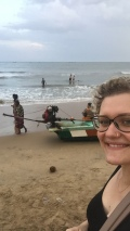 Endlich am Strand!