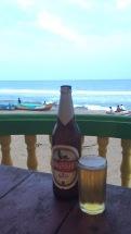 Und endlich ein Bier!