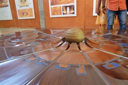 Holzmodell Auroville