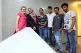 Von links: ich, Shaistha, Prakash, Kiran, Aathanya & Darryl