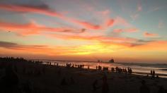Sonnenuntergang in Kochi